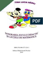 Integrarea Jocului Didactic-Cristina Nasui