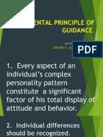Fundamental Principle of Guidance