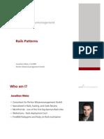 Rails Patterns
