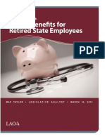Retiree Health Benefits 031615