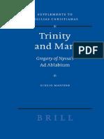 [Maspero, G.] Trinity and Man Gregory of Nyssa