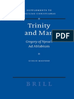 [Maspero, G.] Trinity and Man Gregory of Nyssa
