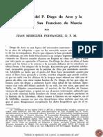 Juan Meseguer Fernández - La Biblioteca de Diego de Arce