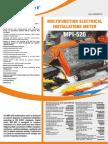 Datasheet MPI-520 en v1