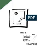 超純水製造系統(MILLI-Q 1996)