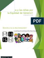Los Niños y Las Niñas Por La Equidad de género