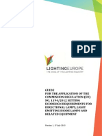 LightingEurope Guide - Regulation 1194 2012