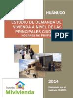 11 Informe Final No Propietarios Huánuco FONDO MIVIVIENDA