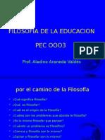 Filosofía Educación (1)