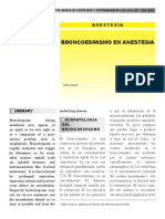 BRONCOESPASMO EN ANESTESIA