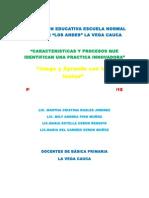 Estrategia Pedagógica Primer Nivel.