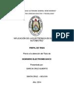 APLICACION DE LA ELECTRONICA