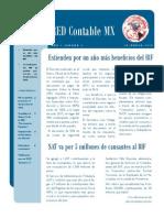 Semanario RED Contable MX Semana 11 - 2015