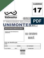 Prova Completa Unimontes