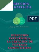 DIRECCIÓN ESTRATEGICA