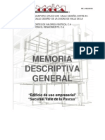 Memoria Descriptiva Arquitectonica General