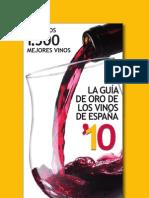 La Guia de oro de los Vinos de España 2010 (Sample)