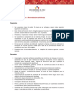 Recaudos Credito Hipotecario Recursos Propios Mejora y Ampliacion Banco Bicentenario -Notilogia