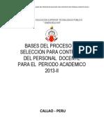 Bases Del Proceso 2013-II