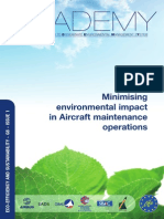 Airbus ACADEMY- Minimising Environmental Impact on Aircraft Maintenance Operations