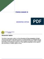 Fisika Dasar 2 -3-Optik Geometri.ppt