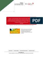 Validacion Chilena Del Cuestionario de Evaluacion Del Apego en El Adulto CAMIR