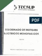Rebobinados de Motores Electricos Monofasicos Parte 1