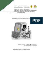 Seguridad de los Sistemas Operativos