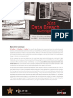 Es Data Breach InvestigatA study conducted by the Verizon RISK Team with cooperation from the U.S. Secret Service and the Dutch High Tech Crime Unit.ions Report 2011 en Xg