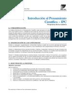 IPC UBA XXI Programa Cuatrimestral 2015