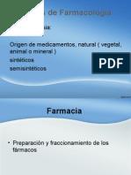 Ramas de Farmacología