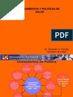 SALUD - LINEAMIENTOS y POLITICAS.ppt