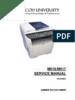 Manual de servicio Ricoh 3400/3410