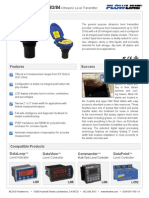 Wireless Level Sensor Lu83 Specs
