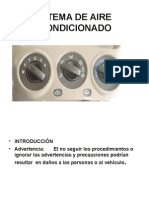 Sistema de Aire Acondicionado power point