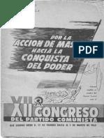 XII Congreso del Partido Comunista