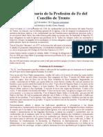 450 aniversario de la Profesión de Fe del Concilio de Trento.doc