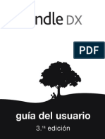 Kindle DX 3rd Edition Spanish