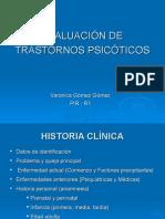 evaluacion PSICOTICOS