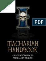 Macharian Handbook II - Arms & Armor (v2.1)