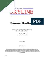 Skyline Personnel Handbook