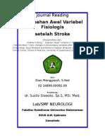 Perubahan Awal Variabelknkbjk Fisiologis Setelah Stroke