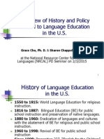 history of language education shorter handout cho chappell