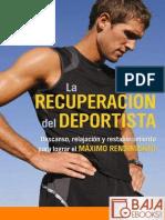 La Recuperacion Del Deportista - Sage Rountree
