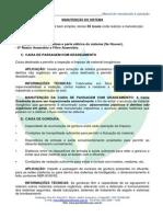 Manutenção Do Sistema - Pantanal Fossas 2014