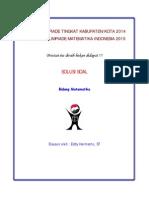 OSK Matematika SMA 2014 Soal + Solusi (eddy hermanto)