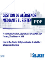 Gestión de Alérgenos