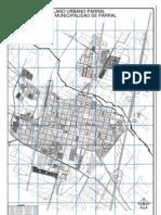 plano urbano parral- chile