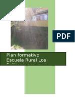 Plan Formativo Escuela Los Pellines