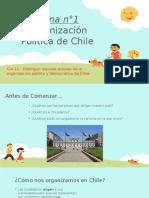 Organización Politica de Chile 4° básico